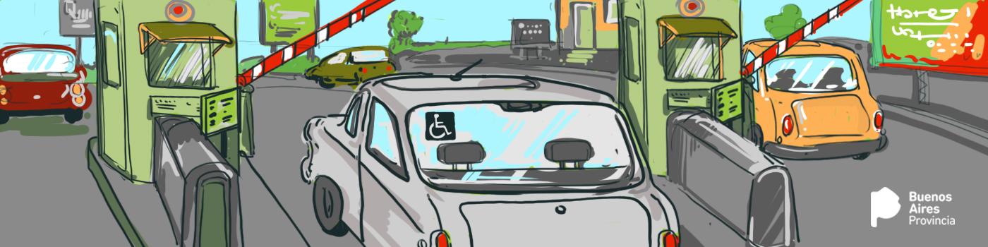 Imagen de LIBRE CIRCULACIÓN EN AUTOPISTAS PROVINCIALES A PERSONAS CON DISCAPACIDAD